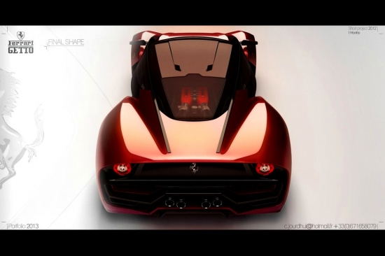 Концепция: Ferrari Getto