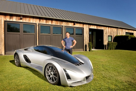 DM Blade is the first supercar built on a 3D printer
